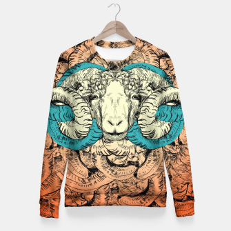 Thumbnail image of Khnum  Fitted Waist Sweater, Live Heroes