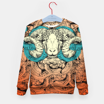 Thumbnail image of Khnum  Kid's Sweater, Live Heroes