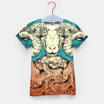 Thumbnail image of Khnum  Kid's T-shirt, Live Heroes