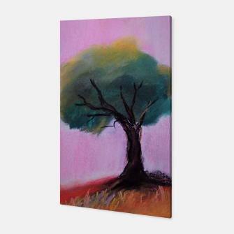 Miniatur lone tree Canvas, Live Heroes