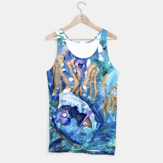 Thumbnail image of Golden Jellyfish Tank Top, Live Heroes