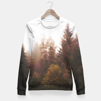 Miniatur Misty autumn Fitted Waist Sweater, Live Heroes
