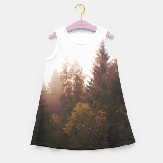 Thumbnail image of Misty autumn Girl's Summer Dress, Live Heroes