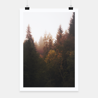 Thumbnail image of Misty autumn Poster, Live Heroes