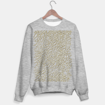 Miniatur Gold elephant skin Sweater regular, Live Heroes