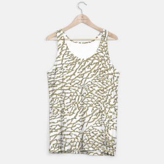 Thumbnail image of Gold elephant skin Tank Top, Live Heroes