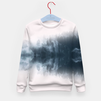 Thumbnail image of Dramatic Forest Kid's Sweater, Live Heroes
