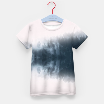 Miniatur Dramatic Forest Kid's T-shirt, Live Heroes