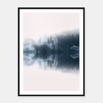 Thumbnail image of Dramatic Forest Framed poster, Live Heroes