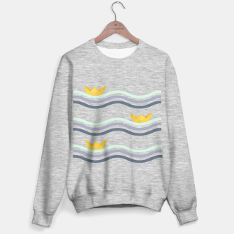 Miniatur Origami sea Sweater regular, Live Heroes