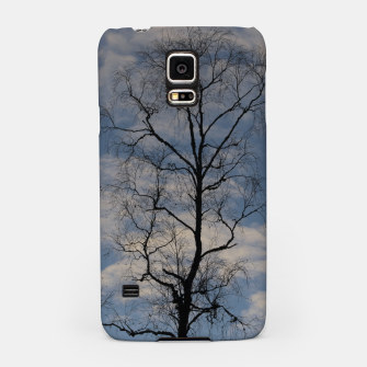 Miniatur Tree and sky Samsung Case, Live Heroes