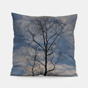 Miniatur Tree and sky Pillow, Live Heroes