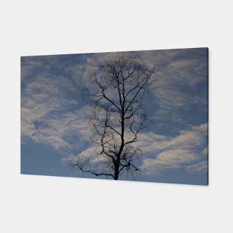Miniatur Tree and sky Canvas, Live Heroes