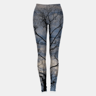 Thumbnail image of Tree and sky Leggings, Live Heroes