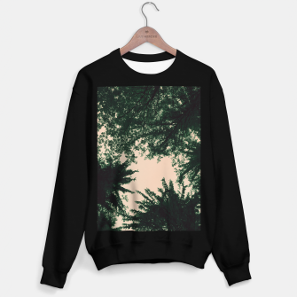 Miniatur Trees and sky Sweater regular, Live Heroes