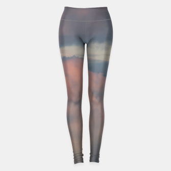 Thumbnail image of Sunset clouds 2 Leggings, Live Heroes