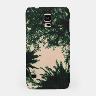 Miniatur Trees and sky Samsung Case, Live Heroes