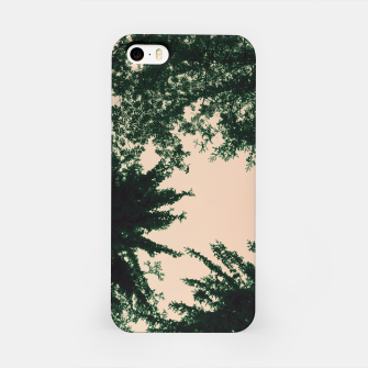 Miniaturka Trees and sky iPhone Case, Live Heroes