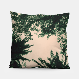 Miniatur Trees and sky Pillow, Live Heroes
