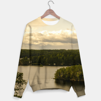Thumbnail image of Forest and lake Sweater, Live Heroes