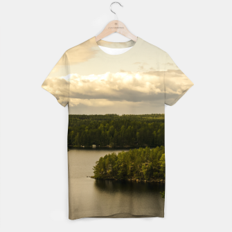 Thumbnail image of Forest and lake T-shirt, Live Heroes