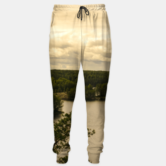 Miniaturka Forest and lake Sweatpants, Live Heroes