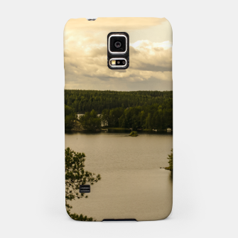 Miniatur Forest and lake Samsung Case, Live Heroes