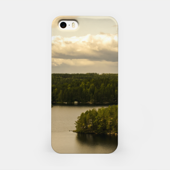 Miniaturka Forest and lake iPhone Case, Live Heroes