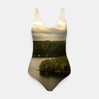 Thumbnail image of Forest and lake Swimsuit, Live Heroes