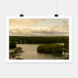 Thumbnail image of Forest and lake Poster, Live Heroes