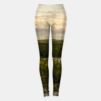Thumbnail image of Forest and lake Leggings, Live Heroes