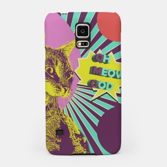 OMG cat Samsung Case thumbnail image