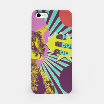 Thumbnail image of OMG cat iPhone Case, Live Heroes
