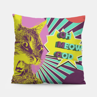 OMG cat Pillow thumbnail image