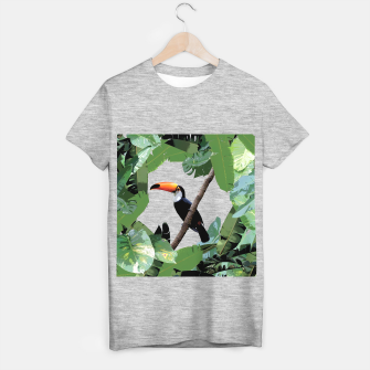 Thumbnail image of Toucan and leaves T-shirt regular, Live Heroes