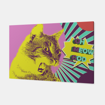 Thumbnail image of OMG cat Canvas, Live Heroes