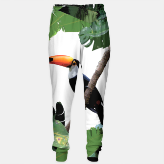 Miniaturka Toucan and leaves Sweatpants, Live Heroes
