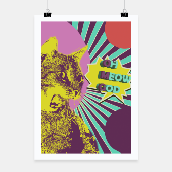Thumbnail image of OMG cat Poster, Live Heroes
