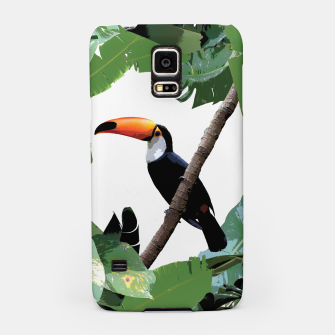 Miniatur Toucan and leaves Samsung Case, Live Heroes