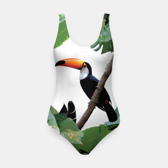 Thumbnail image of Toucan and leaves Swimsuit, Live Heroes