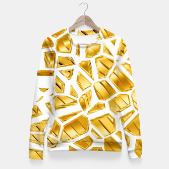 Miniatur Goldie VII Fitted Waist Sweater, Live Heroes