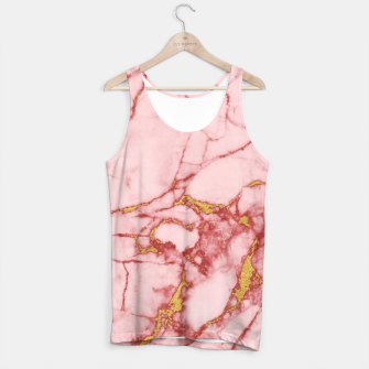 Thumbnail image of Blush Gold Marble v2 Tank Top, Live Heroes