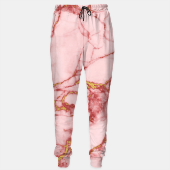 Thumbnail image of Blush Gold Marble v2 Sweatpants, Live Heroes