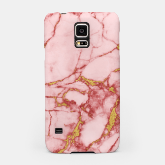 Thumbnail image of Blush Gold Marble v2 Samsung Case, Live Heroes