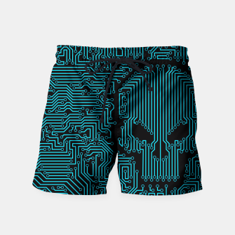 Thumbnail image of Bad Circuit Swim Shorts, Live Heroes