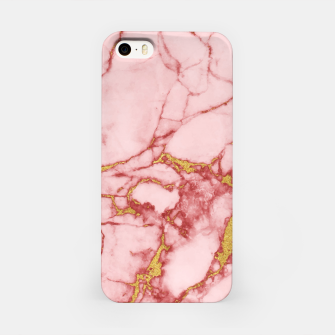Thumbnail image of Blush Gold Marble v2 iPhone Case, Live Heroes