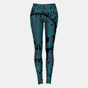 Thumbnail image of Bad Circuit Leggings, Live Heroes