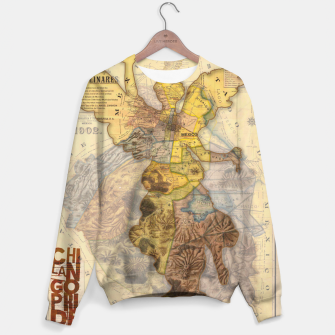 Miniaturka Angel Vintage Map DF Sweater, Live Heroes