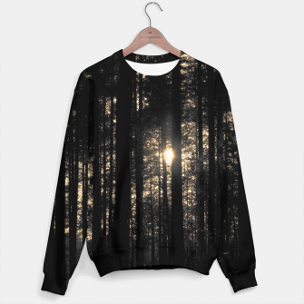 Miniaturka Sun between trees Sweater, Live Heroes