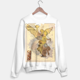 Miniatur Angel Vintage Map DF Sweater regular, Live Heroes